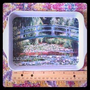 Monet decorative tray